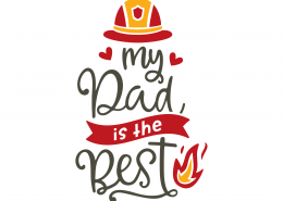 My Dad Is The Best SVG Cut File 9210