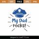 My Dad Rocks SVG Cut File 9212