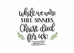 Romans 5-8 SVG Cut File 9151