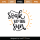 Soak Up The Sun SVG Cut File 9116