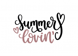 Summer Lovin' SVG Cut File 9164