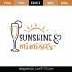 Sunshine And Mimosas SVG Cut File 9218
