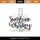 Sunshine And Whiskey SVG Cut File 9213