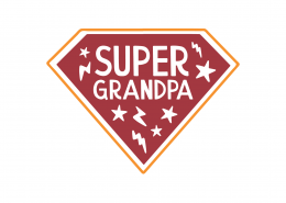 Super Grandpa SVG Cut File 9216