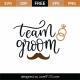 Team Groom SVG Cut File 9114