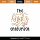 The Bride's Entourage SVG Cut File 9111