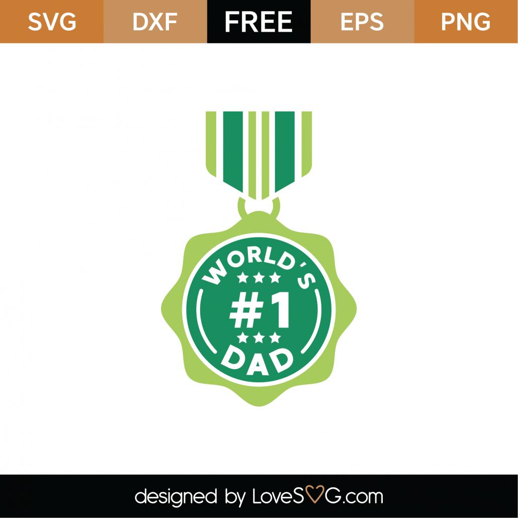 World's #1 Dad SVG Cut File 9240