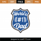 World's #1 Dad SVG Cut File 9248