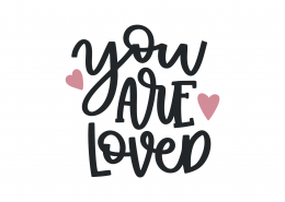 You Are Loved SVG Cut File 9037