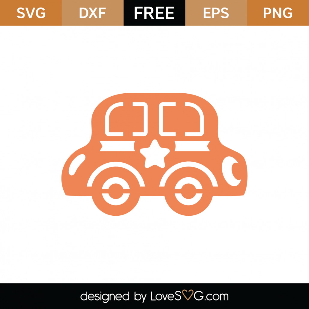 Baby Toy Car SVG Cut File 9320
