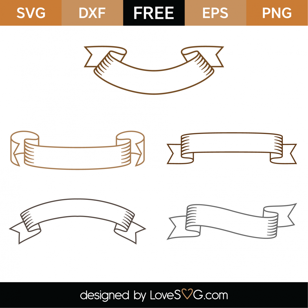 Banners SVG Cut Files 9314