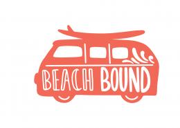 Beach Bound SVG Cut File 9420