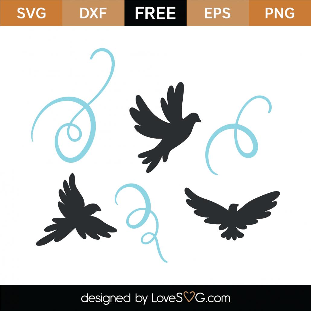 Birds SVG Cut File 9358