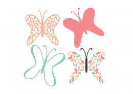 Butterflies SVG Cut File 9325