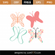 Butterflies SVG Cut File 9325