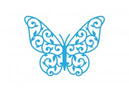 Butterfly Mandala SVG Cut File 9253