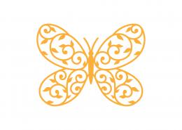 Butterfly Mandala SVG Cut File 9255