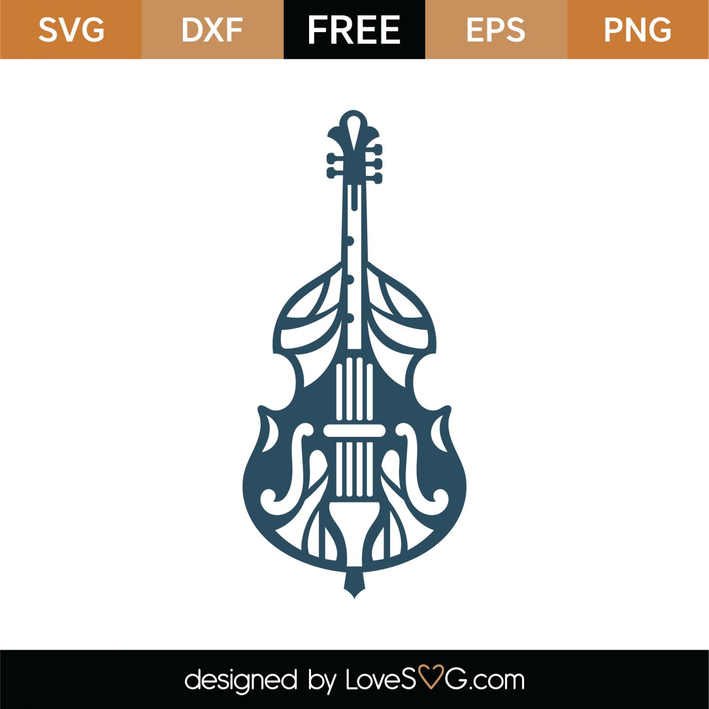 Free Cello Mandala Svg Cut File Lovesvg Com
