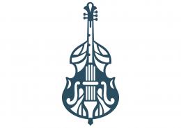 Cello Mandala SVG Cut File 9299