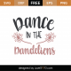 Dance In The Dandelions SVG Cut File 9340