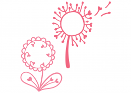 Dandelions SVG Cut File 9357
