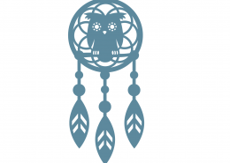 Dreamcatcher SVG Cut File 9302