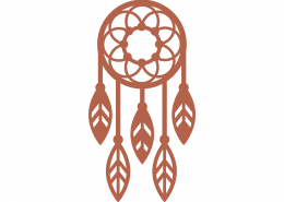 Dreamcatcher SVG Cut File 9304
