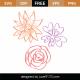Flowers SVG Cut File 9334