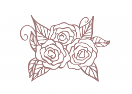 Flowers SVG Cut File 9396