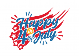 Happy 4th of July SVG Cut File 9298