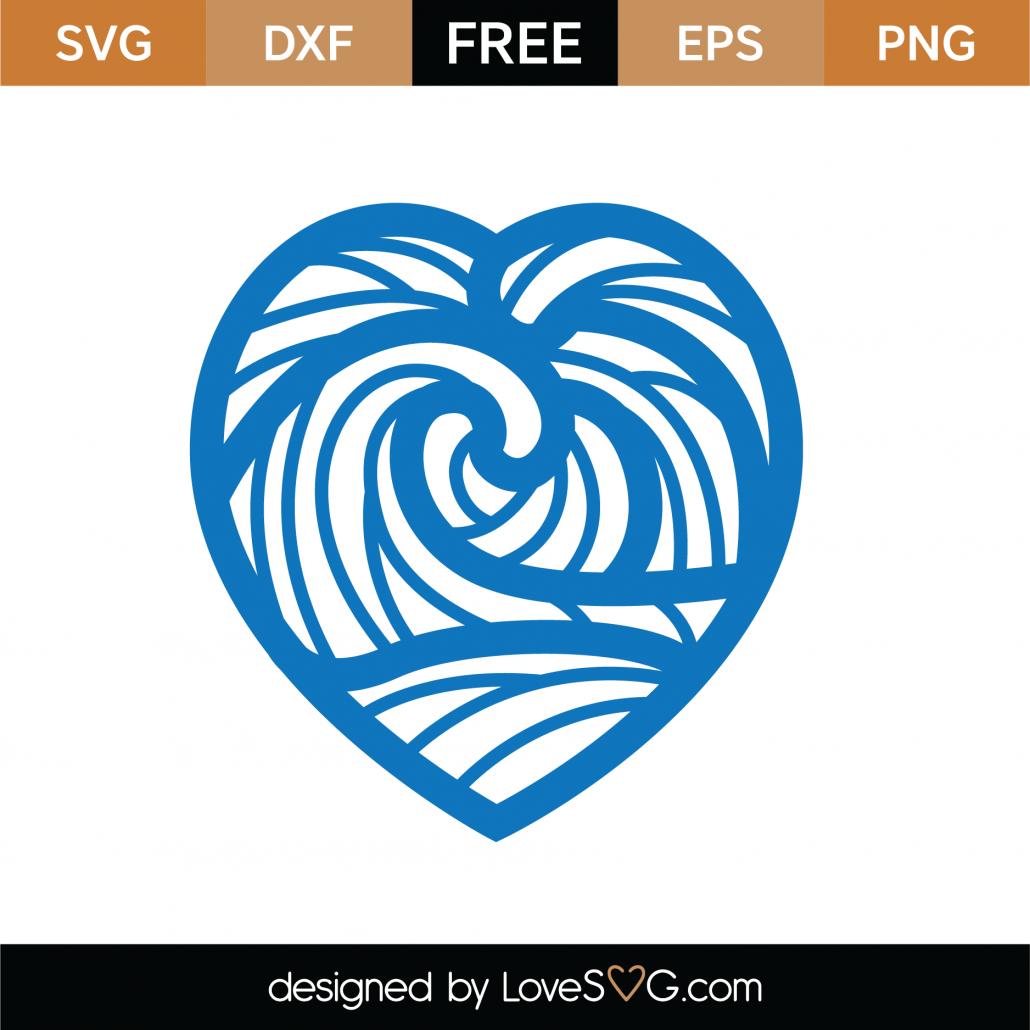 Heart Mandala SVG Cut File 9317