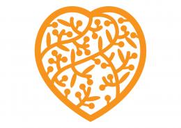Heart Mandala SVG Cut File 9318
