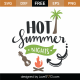 Hot Summer Nights SVG Cut File 9422