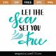Let The Sea Set You Free SVG Cut File 9430