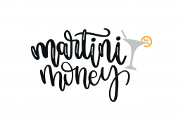 Martini Money SVG Cut File 9269