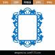 Mirror Frame SVG Cut File 9307
