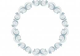 Monogram Frame SVG Cut File 9336