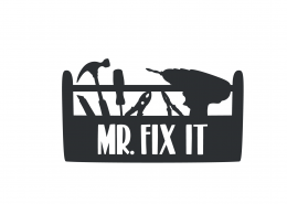 Mr Fix It SVG Cut File 9436