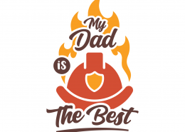 My Dad Is The Best SVG Cut File 9275