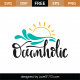 Oceanholic SVG Cut File 9439