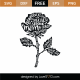 Rose With Words SVG Cut File 9373