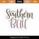 Southern Belle SVG Cut File 9375