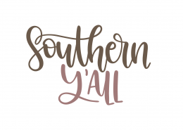 Southern Y'all SVG Cut File 9387