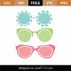 Sunglasses SVG Cut File 9408