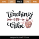 Teaching My Tribe SVG Cut File 9305