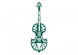 Viola Violin Mandala SVG Cut File 9300