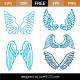 Wings SVG Cut Files 9311