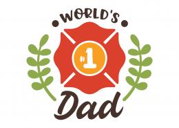 World's #1 Dad SVG Cut File 9252