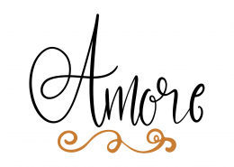 Amore SVG Cut File 9620