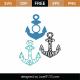 Anchors SVG Cut File 9453